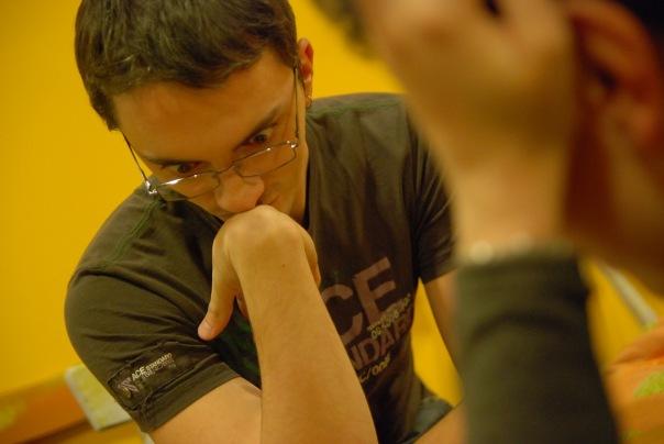 Турнир в шахматы на троих в клубе Трой (Москва)