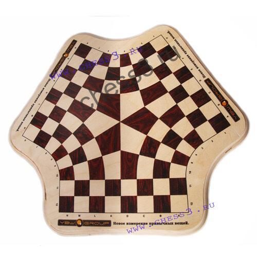 доска шахматная с логотипом