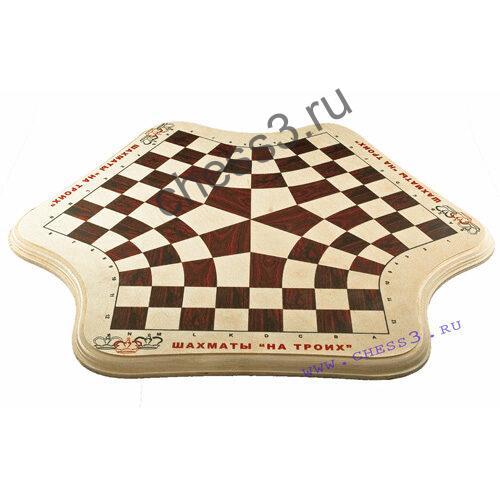 Шахматная доска с нанесением логотипа