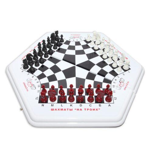 3 в 1 - шахматы в начале игры