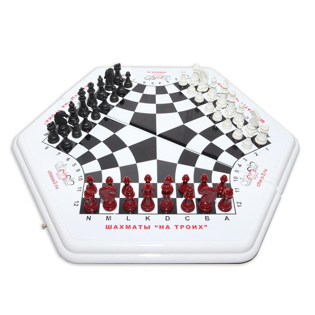 «3в1» Шахматы, шашки, нарды