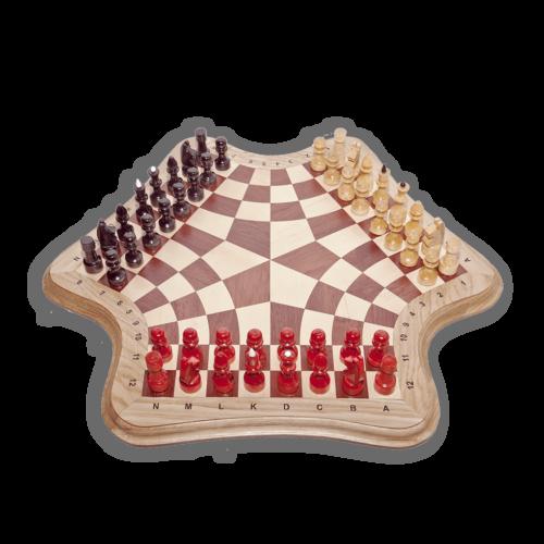Доска для настольной игры в шахматы