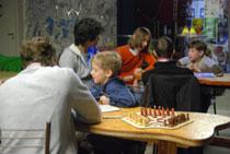 """Шахматная партия - турнир по шахматам для троих"""" в Москве"""